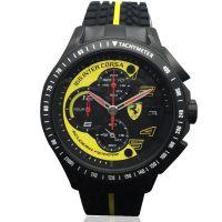 原单批发法拉利手表正品男士运动男表硅胶三眼计时纪念版石英腕表