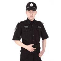 男士酒店保安制服套装订做 男作训服短袖保安服套装定做