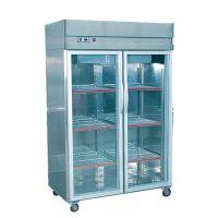 供应超市茶叶冷藏冷柜 湖南长沙佳伯不锈钢玻璃门展示柜
