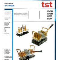 供应优势液压开闭接头|TST不锈钢快速接头|TST原装进口集水块IOM6