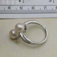 绍兴韩版潮流珍珠戒指、项链、手链、时尚毛衣链厂家直销