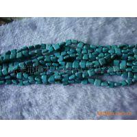 盛记宝石批发 13*13正方形绿松石 人造松石 天然宝石DIY饰品配件