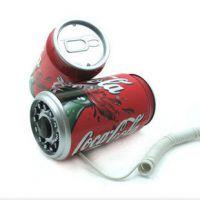 个性创意百事可乐电话机 饮料电话 可口可乐易拉罐电话 央视推荐