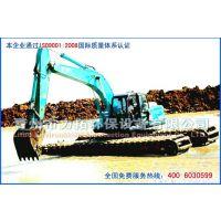 供应山东青州优质两栖式挖掘机—13573620599