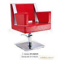 东田洋沙龙美观实用旋转360度男式优质皮革美发椅 理发椅 理容椅