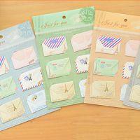 韩国文具批发 bq14-624信封卡片/创意复古小贺卡