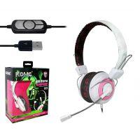 正品 科麦USB-B3 头戴式护耳电脑耳麦USB游戏耳机独立声卡USB耳机