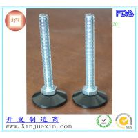 50mm-m12圆形塑胶可调脚 机械设备蹄脚 调整脚垫