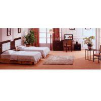 供应广州酒店家具新款经济型酒店宾馆家具公寓旅馆套房床床屏电视桌写字台围椅