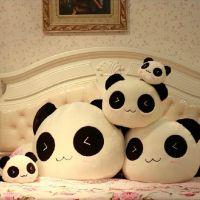 毛绒玩具批发 大号微笑趴趴熊猫公仔抱枕 生日礼物 一件代发货