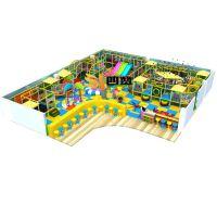 酷派熊主题乐园,PVC定制乐园,室内淘气堡设备厂家