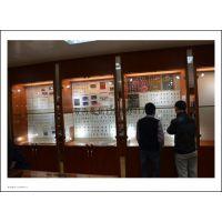 高档玉石珠宝收藏柜 拍卖会博物馆烤漆玻璃展柜/多功能柜中岛柜
