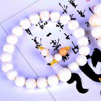 厂家直销时尚手链 白砗磲佛珠念珠 五行开运11mm女式首饰手串