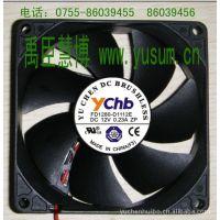 供应8025DC12V直流轴流散热风扇,全系列DC直流风扇