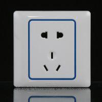 天基雅致系列开关插座面板 10A墙壁电源家装电工电器插座