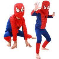 老蒋直销 万圣节服装儿童 儿童衣服 蜘蛛侠服装 蜘蛛侠衣服