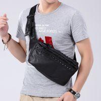 供应厂价直销男式胸包新款挎包 铁拉链小包 s00a310090020055