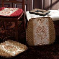 中国风绗秀沙发坐垫办公椅坐垫椅子垫椅垫餐厅椅子坐垫批发