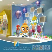 供应商场童装店铺货架 高档儿童服装架 童装店铺设计 品牌童装店货架