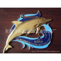 制作个性海豚标牌  腐蚀标牌│不锈钢铭牌│高光铝牌│可定制订做