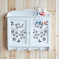 厂家直销 木制电表箱 田园风格 蝴蝶镂空 纯白镂空 电表箱