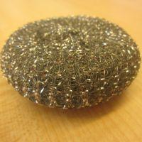 供应钢丝球生产厂家安徽站 清洁球专业生产 螺旋网状压扁球均可做 高效去污不伤手 可批发