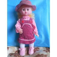 厂家现货供应14英寸,16英寸等多功能音乐娃娃及配套服装