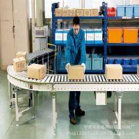不锈钢电动 无动力滚筒轴承螺旋辊子输送机尺寸可定制 伸缩可移动