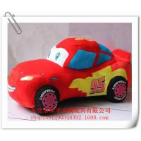 厂家定做毛绒玩具车  迪斯尼 麦凯恩 汽车总动员 95号闪电麦坤