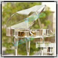 水晶钢琴八音盒-可彩印照片-刻字添加祝福语-情人节送女友