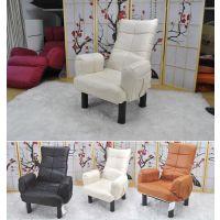 家易居电视椅懒人沙发榻榻米日式单人多功能折叠皮革休闲椅