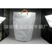 深圳龙岗手袋厂家直销 生产加工 PVC手提袋 光胶PVC购物袋