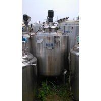 供应二手中药提取设备10立方发酵罐500L种子罐