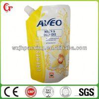 洗衣液护发素洗发吸嘴膏自立包装袋 日用品包装袋塑料袋pvc袋子