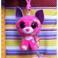 批发外贸库存毛绒玩具 出口美国大眼睛系列公仔动物挂件时尚礼品