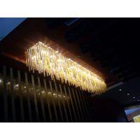 会所KTV别墅咖啡厅售楼处过道走廊 拉萨 传统水晶吸顶灯个性灯广东中山古镇凯锐灯饰厂