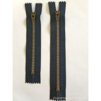 【双菱拉链】厂家直销4#金属牛仔裤拉链 弹簧头 根据客户需求定做