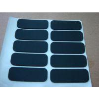 供应防滑橡胶脚垫 白色自粘橡胶胶片 橡胶密封圈 黑色橡胶垫片