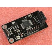 STC15L204 + NRF24L01接口 无线驱动板 无线开发板