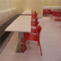 重庆员工食堂桌椅在哪有?上品厂家[SP-CS262]批发时尚简约经济实惠员工餐厅快餐店成套桌椅