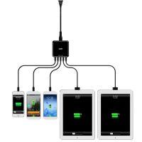 5USB8A智能识别手机快速充电器