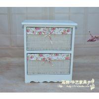 厂家批发 韩式田园 实木简约床头柜 现货供应 品质保证 欢迎订做