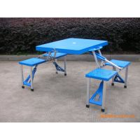 厂家直销---沙滩桌、折叠桌子、野外用餐桌