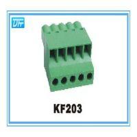 插拔式接线座KF203-5.00/5.08/7.50/7.62mm