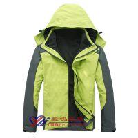 防风防水保暖透气脱卸三合一户外冲锋衣上海厂家供应现货款式选购