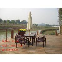 供应供应小区木制桌椅,户外野餐台,广场木质桌椅