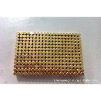 供应镀金磁铁,强力磁铁、钕铁硼磁铁