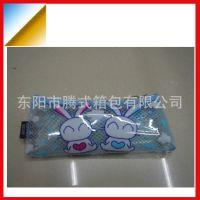厂家低价供应透明Pvc学生小款笔袋