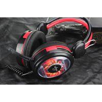 超越者X7 头戴式 网吧耳机 专业游戏耳机带麦克风耳机