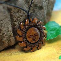 民族风挂件 太阳神骨雕挂件 古典创意小饰品厂家批发